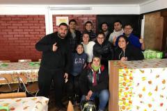 Visita a casas hogares y comedor solidario